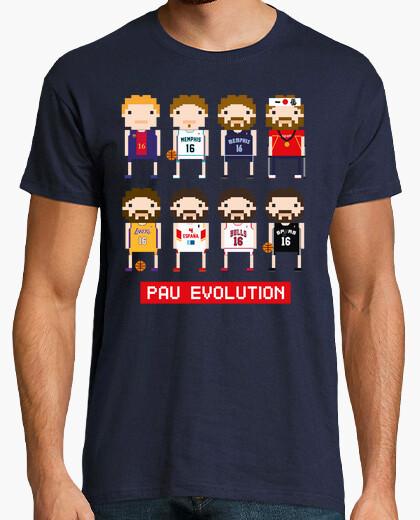 Camiseta Pau Gasol Evolution