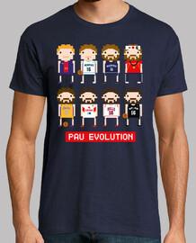 Pau Gasol Evolution