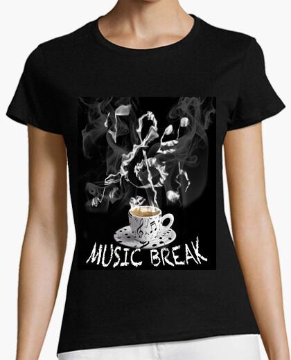 Tee-shirt pause de la musique