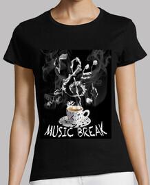 pause de la musique