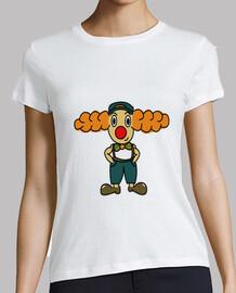 Payaso Camisa mujer