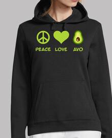paz amor aguacate