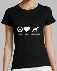 paz amor weimaraner