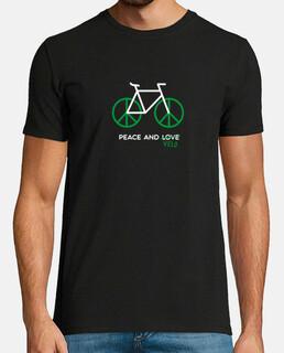 paz y bicicleta