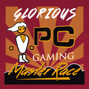 PC Master Race Glorious PC Gaming T-shirts