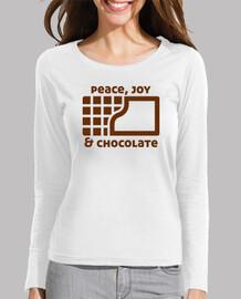 Peace, joy and chocolate