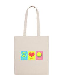 Peace Love Golf 2 bag