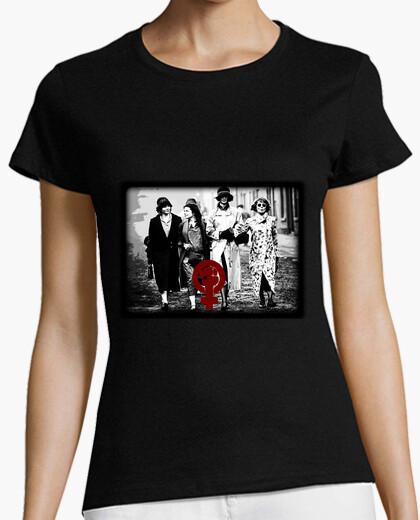 Camiseta Peaky Women, Mujer, manga corta, negra, calidad premium