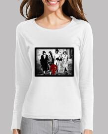 Peaky Women, Mujer, manga larga, blanco