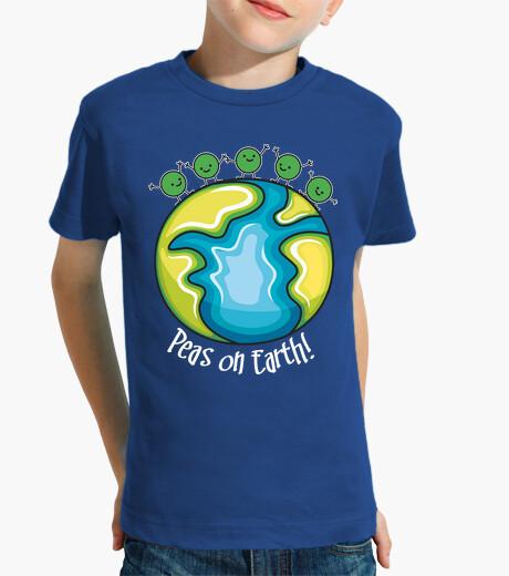 Ropa infantil Peas on Earth (oscura)
