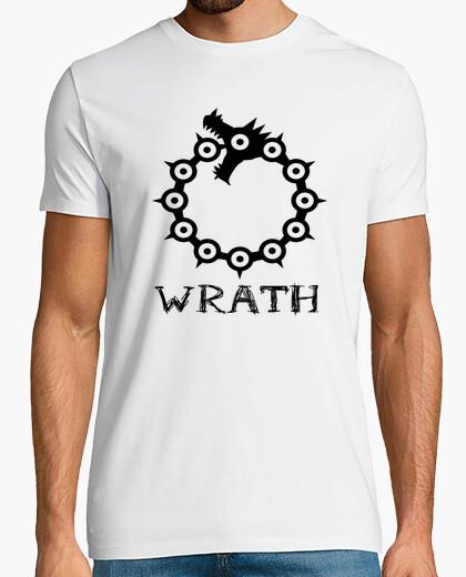 Camiseta Pecado de la ira (negro), Nanatsu no taizai