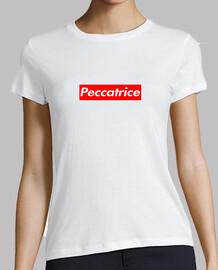 Peccatrice - T-Shirt Bianca