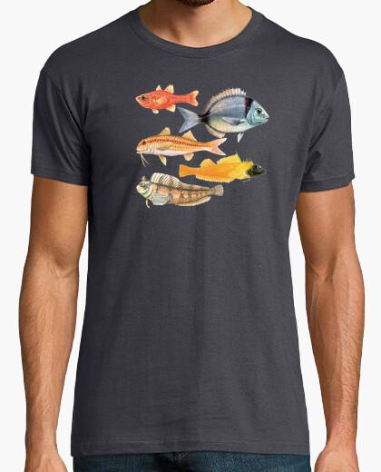 Camiseta Peces del Mediterráneo