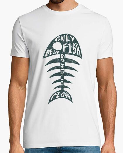 Camiseta peces muertos