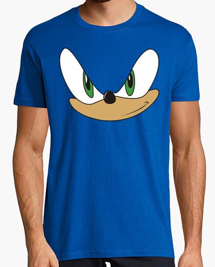 Tee-shirt peek bleu sonique