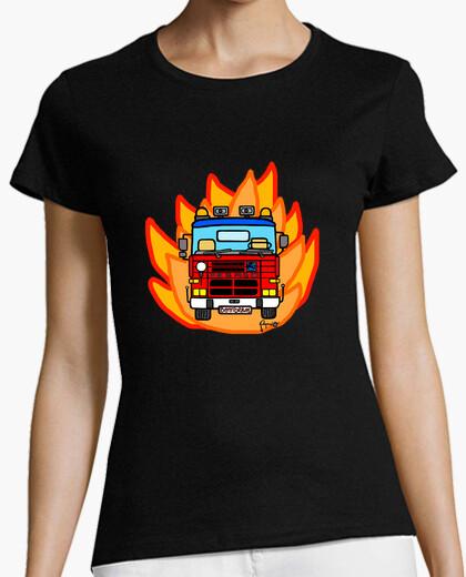 T-shirt pegaso 2080 fuoco
