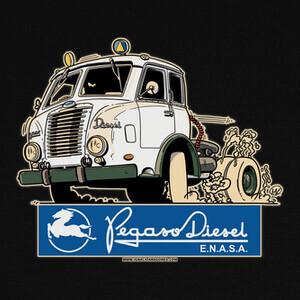 Camisetas PEGASO Z701 MOFLETES