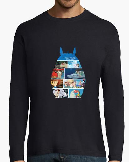 Camiseta Peliculas Hayao Miyazaki