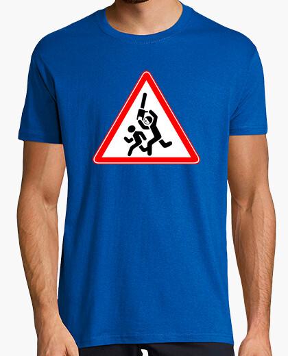 Camiseta ¡¡Peligro maníaco suelto!!