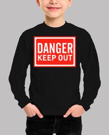 peligro mantenerse alejado