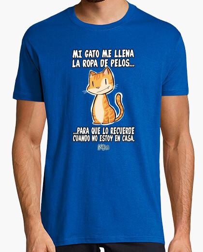 Camiseta pelos hombre corta