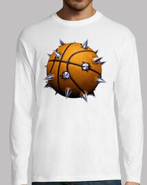 Pelota de basket con púas