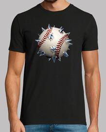 Pelota de beisbol con púas