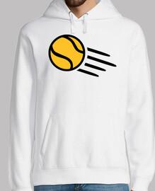 pelota de tenis amarilla