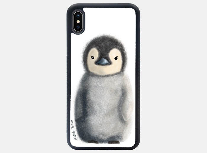 penguin iphone xs case