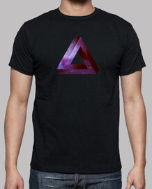 Penrose triangle infini - violet