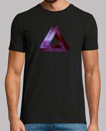 Penrose triangle infini - violet