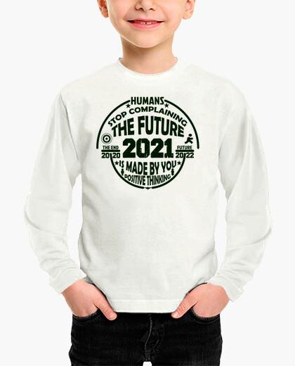 Abbigliamento bambino pensiero positivo verde