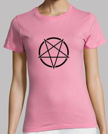 Pentagrama Símbolo (negro)