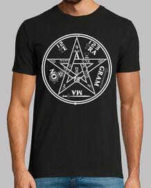 pentagramme blanc