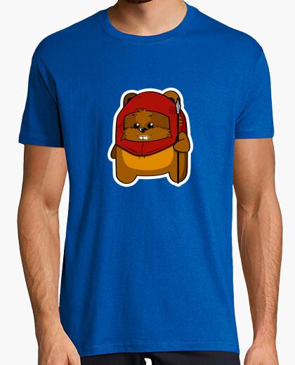 Camiseta Pequeño ewok - mc chico