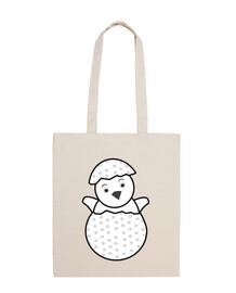 per la mamma, il bambino chick- (abbigliamento borsa)