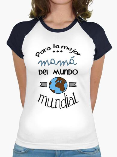 T-shirt per la migliore mamma del mondo mondiali