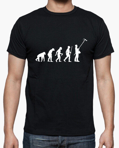 Perchman evolution t-shirt