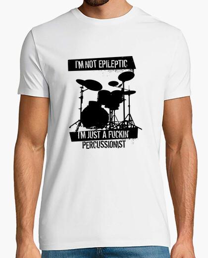 Camiseta percusionista epiléptica