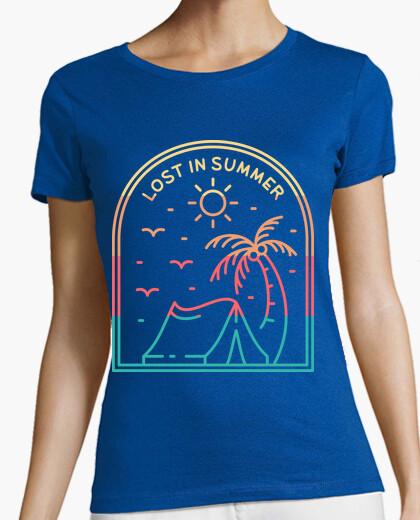 Camiseta perdido en verano