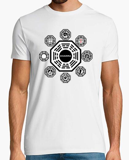 Camiseta Perdidos - Lost - Estaciones Dharma