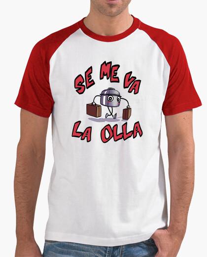 T-shirt perdo il mio piatto, uomo