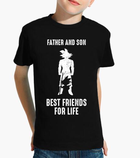 Vêtements enfant père and fils, best friends pour la vie | père et fils