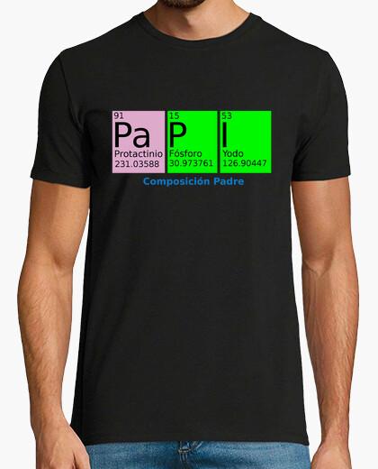 Tee-shirt père chimie