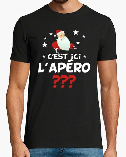 Tee-shirt père noel