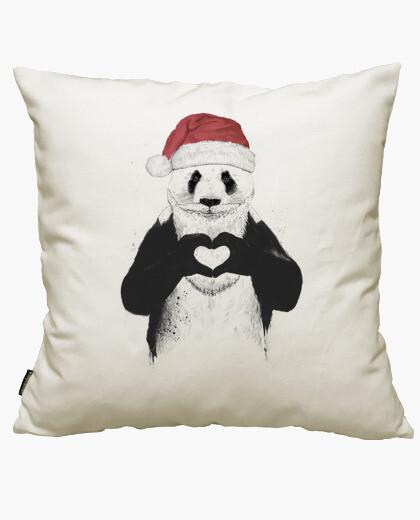 Housse de coussin père panda
