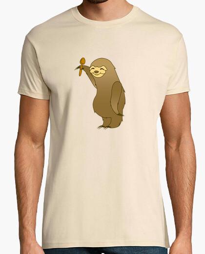 Camiseta Perezoso cocinero kawaii