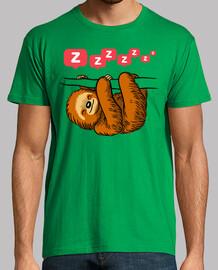 Perezoso sueño camiseta