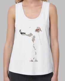 PerfilDeGalgo-Camiseta TLargaBlanco