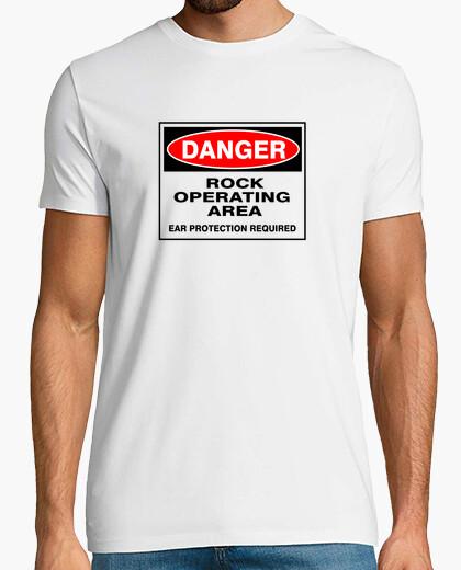 T-shirt pericolo roccia